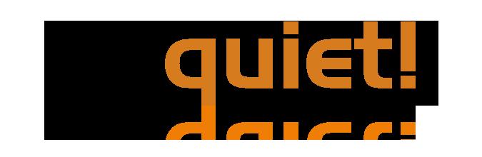 be quiet! logo