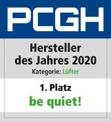 Hersteller des Jahres 2020_Lüfter_Be quiet_Platz_1