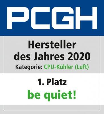 Hersteller des Jahres 2020_CPU_Kühler_(Luft)_Be quiet_Platz_1