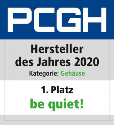 Hersteller des Jahres 2020_Gehäuse_Be quiet_Platz_1
