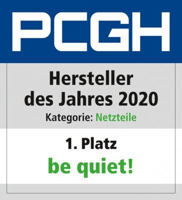 Hersteller des Jahres 2020_Netzteile_Be quiet_Platz_1
