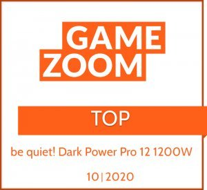 2020 - Top - be quiet! Dark Power Pro 12 1200W